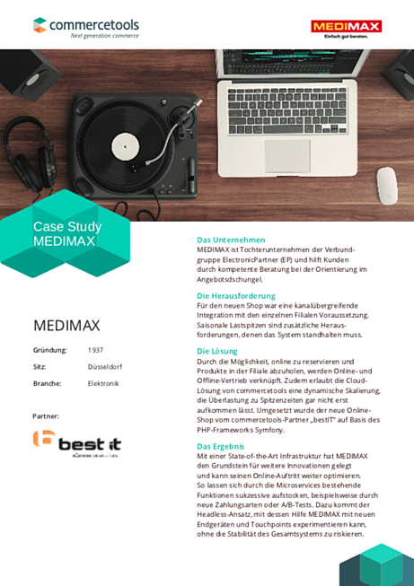 Fallstudie MEDIMAX