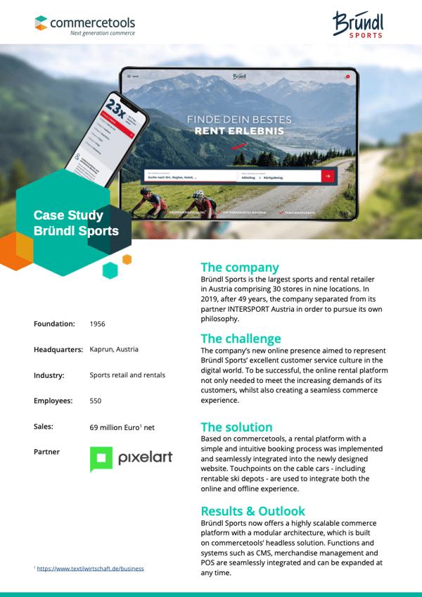 commercetools Case Study Bründl Sports