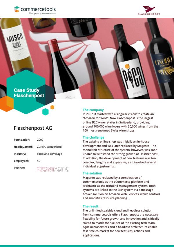 commercetools Case Study Flaschenpost AG