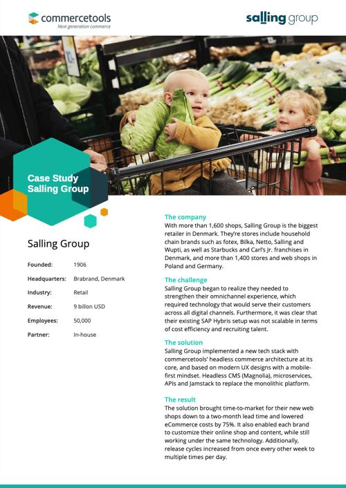 commercetools Salling Group Case Study