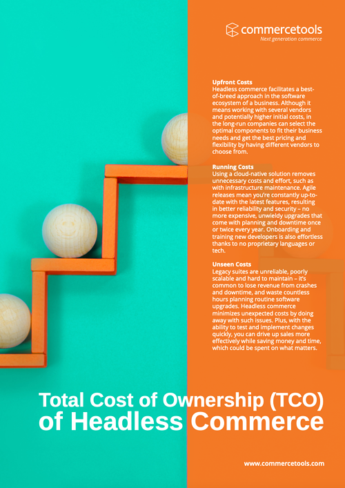 Total Cost of Ownership (TCO) of Headless Commerce