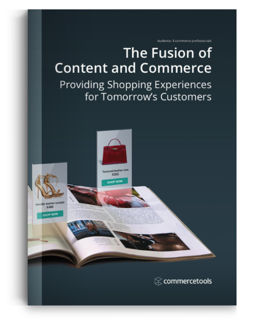 commercetools Content Commerce Whitepaper
