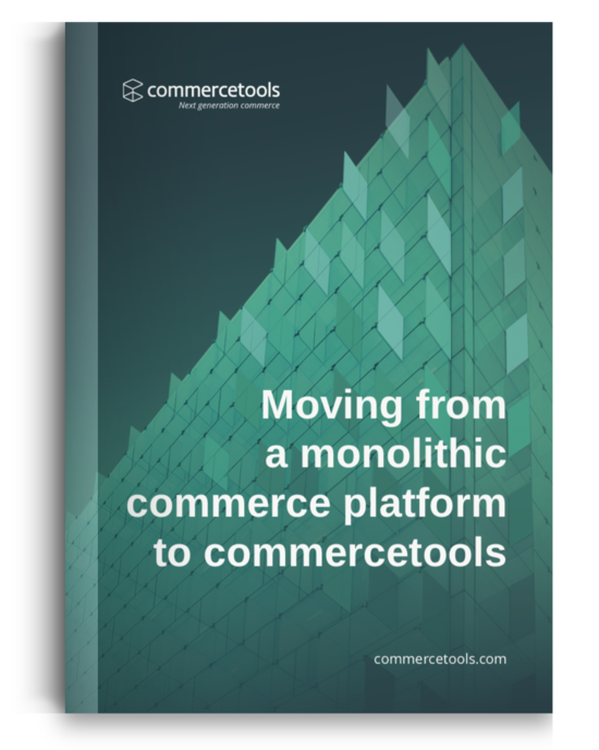 commercetools White Paper Migration Guide Cover