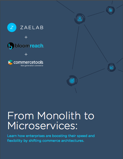 commercetools and Zaelab Whitepaper: From Monolith to Microservices