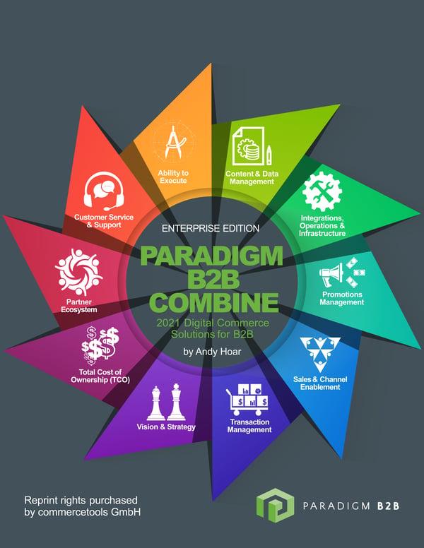 Paradigm B2B Combine Enterprise commercetools