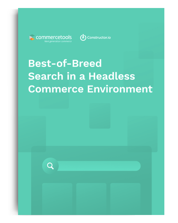 White Paper: Best-of-Breed Search in a Headless Commerce Environment