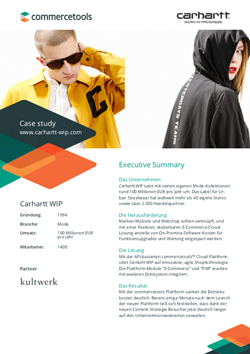 commercetools Case Study Carhartt WIP