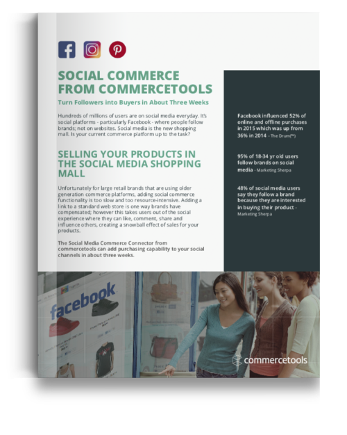 commercetools Social Commerce Solution