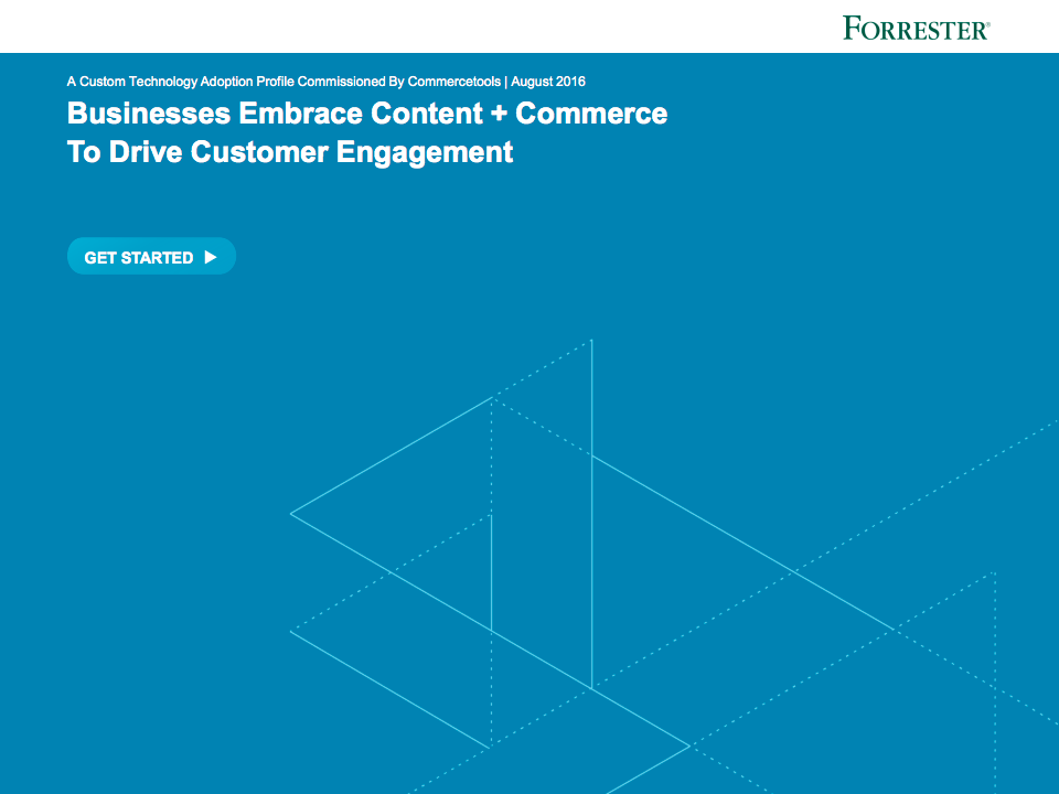 commercetools Forrester Study