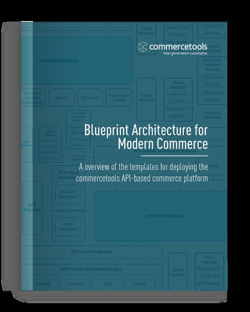 commercetools Blueprint Architecture Whitepaper