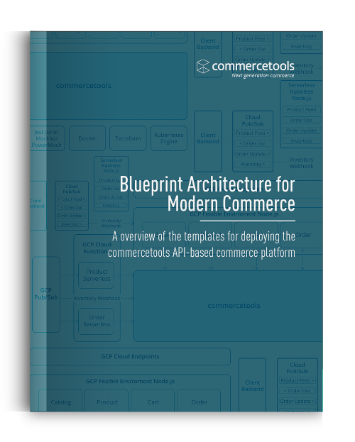 commercetools Blueprint Architecture Whitepaper