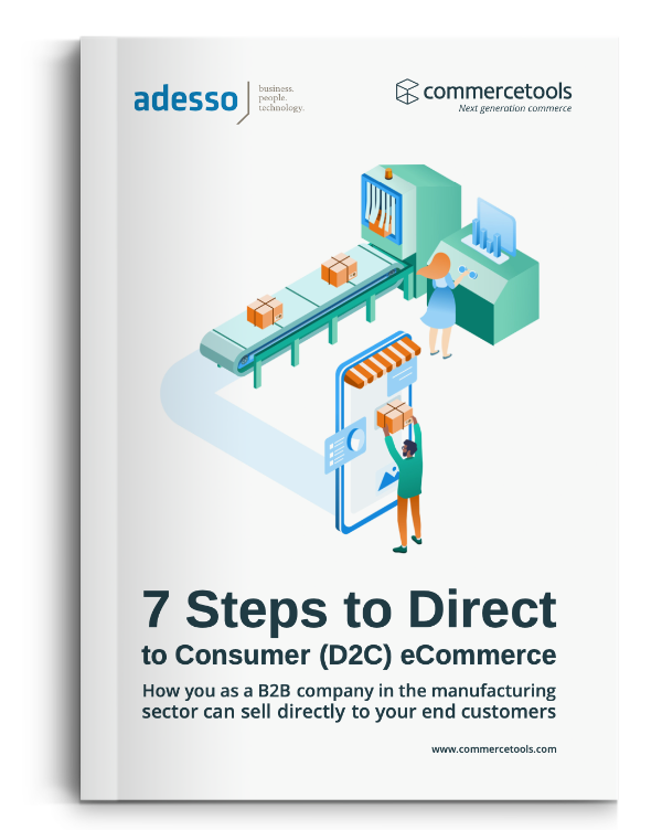 commercetools White Paper 7 Steps to D2C eCommerce
